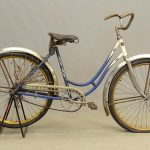 "C. 1920's Iver Johnson female bicycle. 18"" frame"