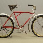 "C. 1920's Iver Johnson bicycle. 20"" arch frame"