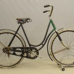 "C. 1920's Iver Johnson female bicycle. 22"" frame"