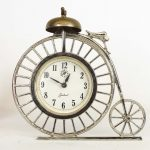 High Wheel Bicycle Clock