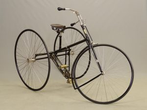 C. 1888 Humber No. 4 Gents Light Roadster Cripper tricycle