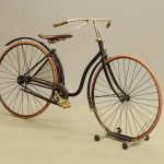 C. 1891 Juno Hard Tire Safety bicycle