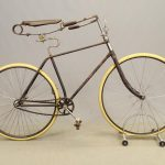 C. 1892 Columbia Pneumatic Safety Bicycle
