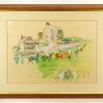 Raoul Dufy (French 1877-1953), hand colored lithograph