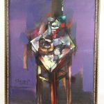 Valery Yaroslavtsev (21st century), abstract. Oil on canvas