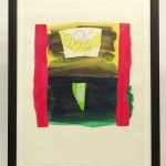 Ceri Giraldus Richards (1903-1971), signed and numbered lithograph. #31/60, dated '70
