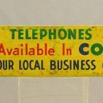 Vintage Trade Sign