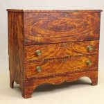 18th c. Lift Top Blanket Box