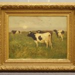 Painting: William Henry Howe (New York, Connecticut, Ohio 1846-1929) oil on canvas painting