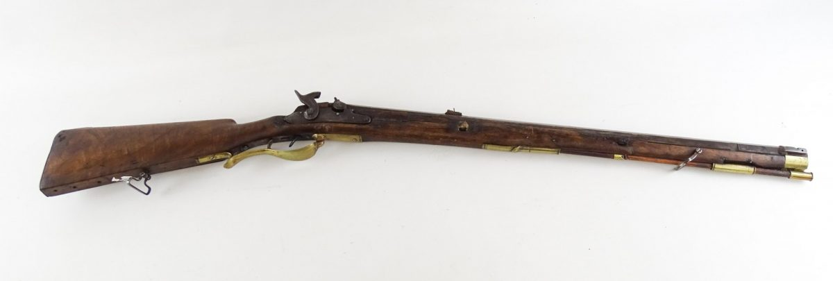 19th c. Civil War Flintlock Rifle