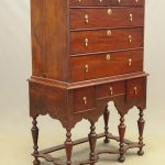 18th c. William & Mary Chest on Frame
