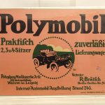 Vintage German Automobile Poster