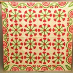 C. 1860 Applique Quilt