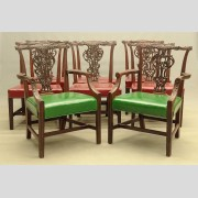 Set of (8) Chippendale Chairs