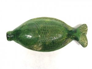 Ceramic Fish Flask