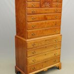 18th c. Cherry Chest on Chest