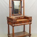 19th c. Empire New York Dressing Table