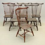 Set of (6) Wallace Nutting Windsor Chairs