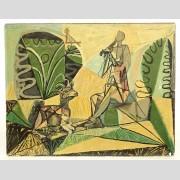 Pablo Picasso (1881-1973), Lino cut