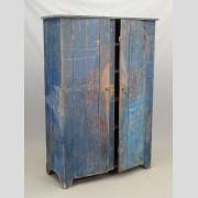 19th c. two door Hudson Valley wall cupboard