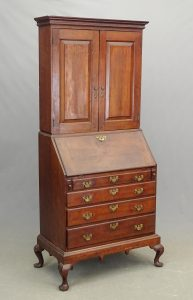 18th c. Hartford Ct. Cherry Chest on Frame