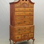 18th c. Ct. Bonnet Top Highboy
