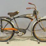 1954 Schwinn Black Phantom Bicycle