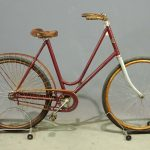 Crescent Pneumatic Safety Bicycle