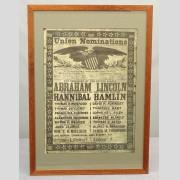 Abraham Lincoln Broadside