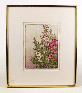 Jane Berry Judson (1868-1935), color woodcut