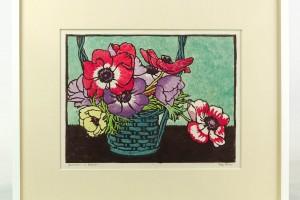 Luigi Rist (1888-1959), color woodcut