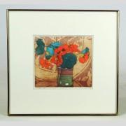 Joseph Walter Phillips (1884-1963), color woodcut