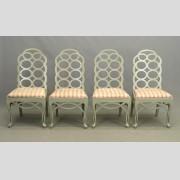 Set of (4) English Chairs