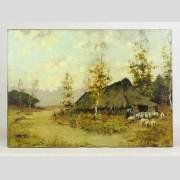 Painting: Attributed to Nicolai Fechin (1881-1955)